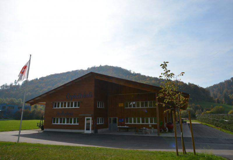 Öpfelhüsli - Hofladen Frontseite